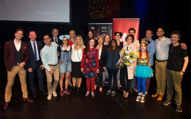 FameLab 2019 Finalists