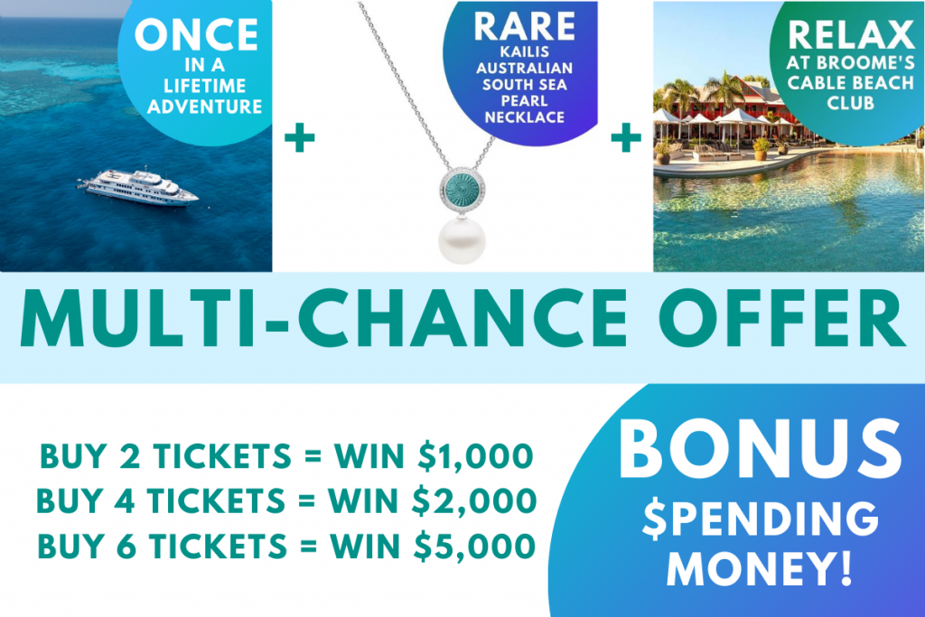 Multi-Chance Offer - Buy more to win more spending money,