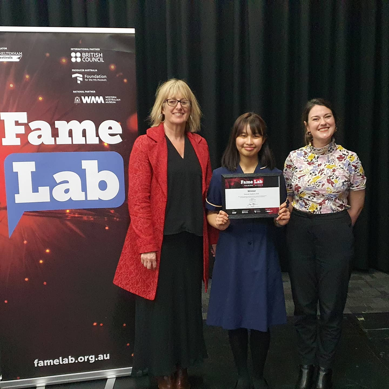 2020 FameLab Academy Winner