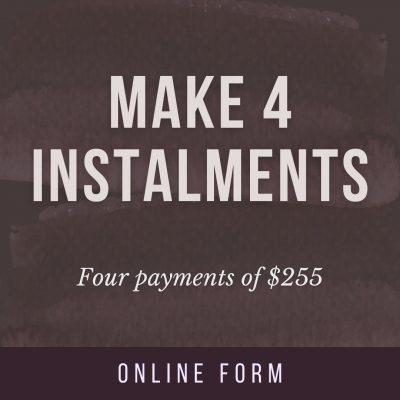 Four instalments